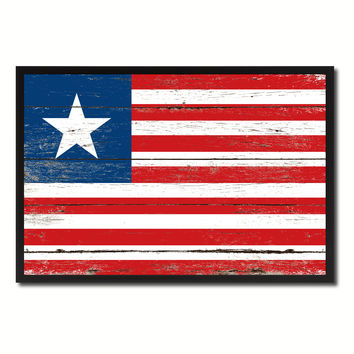 Historical State City Florida Secession State Flag Vintage Canvas Print with Black Picture Frame Home Decor Wall Art Collectible Decoration Artwork Gifts