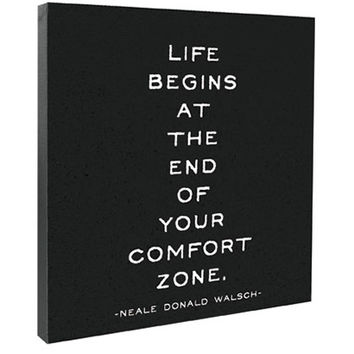 Life Begins Canvas