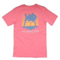 Southern Paradise T-Shirt in Light Coral by Southern Tide