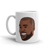 Kanye West Love Pablo T.L.O.P The Life of Pablo Yeezy Yeezus Season 3 Ye Ceramic Coffee Morning Mug