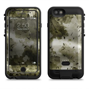 The Grungy Vivid Camouflage  iPhone 6/6s Plus LifeProof Fre POWER Case Skin Kit