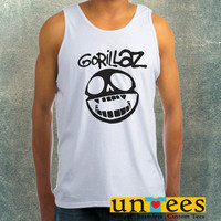 Gorillaz Logo Clothing Tank Top For Mens