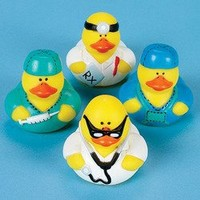 Doctor Rubber Ducks (1 dz) [Toy]