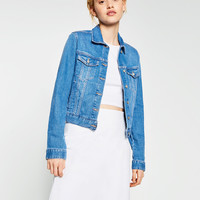 DENIM JACKET - View All-OUTERWEAR-WOMAN | ZARA United Kingdom