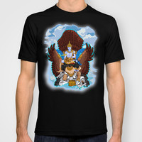 Visnu GOD with Garuda kencana Made in USA Short sleeves tee tshirt