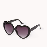 FOREVER 21 F2841 Lolita Sunglasses Black One