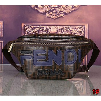 FENDI Autumn Winter New Popular Women Leather Sport Chest Bag Shoulder Bag Crossbody Satchel