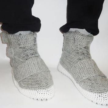 The Yezzy  Knit Slippers