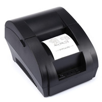 ZJ - 5890K Portable 58mm USB Port  POS Receipt Thermal Printer