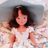 Nancy Ann Storybook Doll with box 1940s