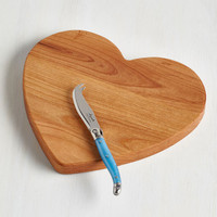 ModCloth Darling Cheese to My Heart Cutting Board
