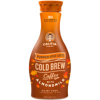 Order Califia Farms Cold Brew Coffee with Almond Milk, Pumpkin Spice Latte, Plastic Bottle | Fast Delivery