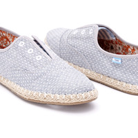 Chambray Dot Women's Palmera Slip-Ons