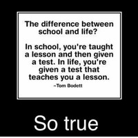School vs. Life US Humor - Funny pictures, ... - inspiring picture on Favim.com