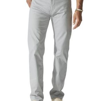 Dockers 5 Pocket Straight Fit - Grey - Men's