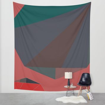 Shape Play 2 Wall Tapestry by Ducky B