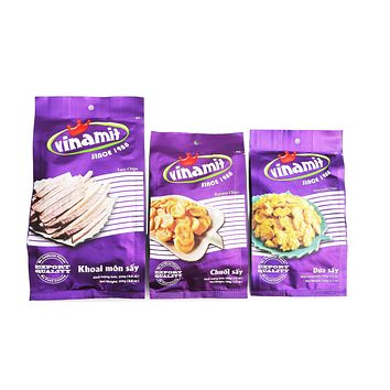 Vinamit Vietnam Taro/ Banana/ Pineapple Chips - High Quality Food
