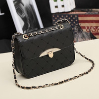 Korean Lady Women Hobo PU Leather Messenger Handbag Shoulder Bag Totes Purse FT = 1931802884