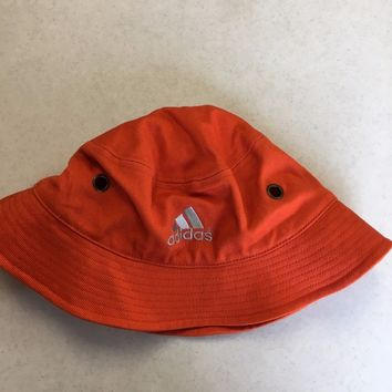 c482d17ff6a BRAND NEW ADIDAS ORANGE BUCKET HAT SMALL MEDIUM SHIPPING