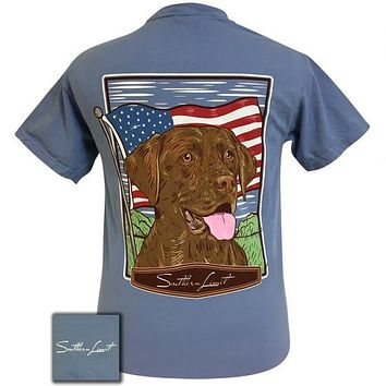Southern Limits USA American Dog Unisex Comfort Colors T-Shirt