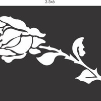 Rose Vinyl Decal Sticker Window Car Truck Van Suv