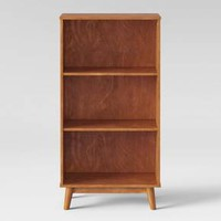 "46"" Amherst Mid Century Modern 3 Shelf Bookcase - Project 62™"