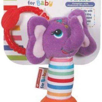 Scholastic Plush Chirpy Rattle Case Pack 6