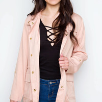 Melrose Jacket - Blush