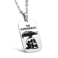 Stylish Gift Jewelry New Arrival Shiny Stainless Steel Accessory Strong Character Vintage Men Necklace [10783257027]