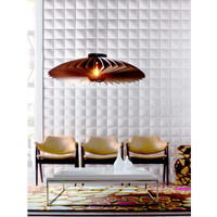 Inhabit Wall Flats Blueprint 19.7' x 19.7'' Geometric Embossed Tile Wallpaper & Reviews | Wayfair