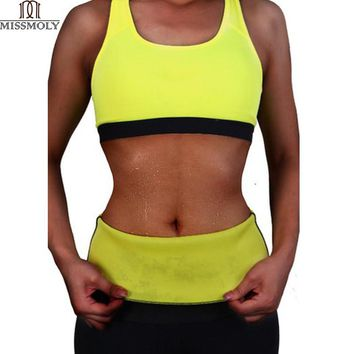 Slimming Waist Belts Neoprene Body Shaper Corsets Cincher Trainer Promote Sweat Bodysuit Fitness Women