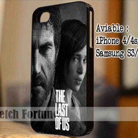 The Last of Us Poster Design for iPhone 4/4s/5, Samsung Galaxy S3/S4 Case