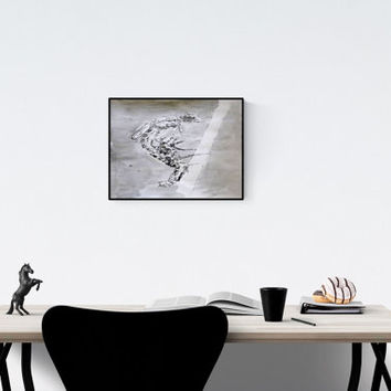 Dragonfly wall art: Metamorphosis, on high quality art paper, signed by the artist