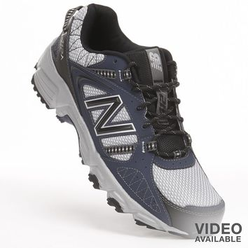 New Balance 412 Trail Running Shoes - Men (Blue)