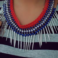 Lady Rebel Statement Necklace