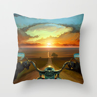 Land of the Winds Throw Pillow by Artem Rhads Cheboha