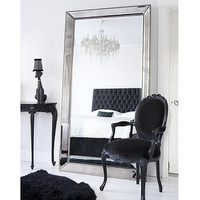 Strictly Studded Floor Mirror  |  Full Length Mirrors  |  Mirrors & Screens  |  French Bedroom Company