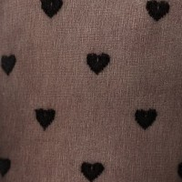 & Other Stories | Heart Jacquard Tights | Black