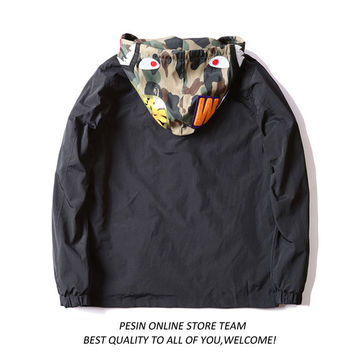 Windbreaker Men Hoodies Jacket [10585148679]