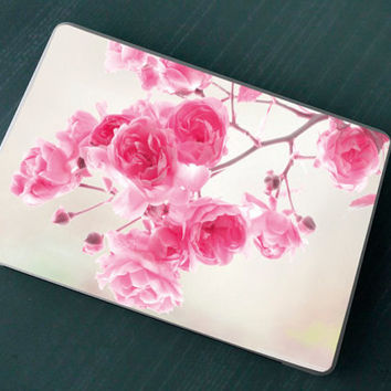 Stickers Macbook Decal Skin Macbook Air Skin Pro Skins Retina Cover Rose Branch Christmas Gift New Year ( rm17)