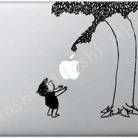 Giving Tree MacBook Decal Laptop skin Apple decal by MacStickerz