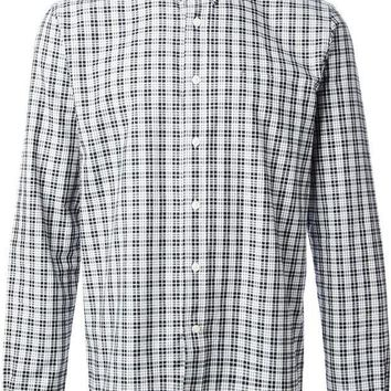 ESBONJF Ami Alexandre Mattiussi checked Oxford shirt