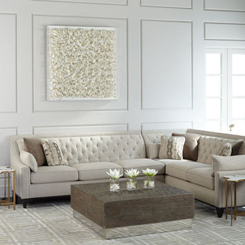 Linzie Linen Sectional Sofa