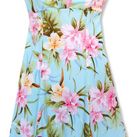 blue goddess hawaiian dress :: Plus-Size Shop :: Women :: Lavahut