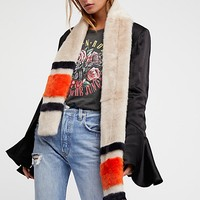 Good Sport Faux Fur Scarf