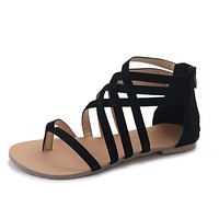 Womens Rome Gladiator Flats Casaul Sandals