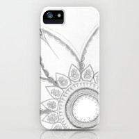 Flower drawing iPhone Case by Alison Hagar Photography | Society6