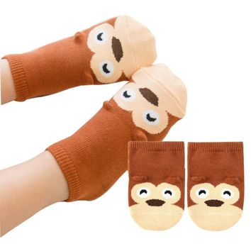 Baby socks Infant, Newborn & Toddler Cotton Boys Girls Anti-slip Socks