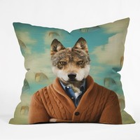 Natt Portrait n 1 Throw Pillow