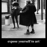 Expose Yourself to Art Print by M. Ryerson at Art.com
